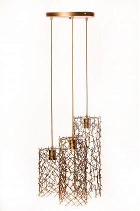 Светильник подвесной TRIPPLE золотой