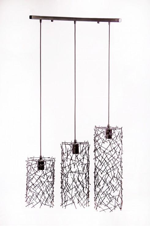Светильник подвесной PYRAMIDE темно-серый