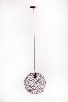 Светильник подвесной SPHERE серебряный