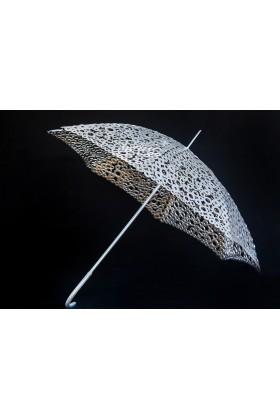 Зонт арт - деко из металлических шайб 02401
