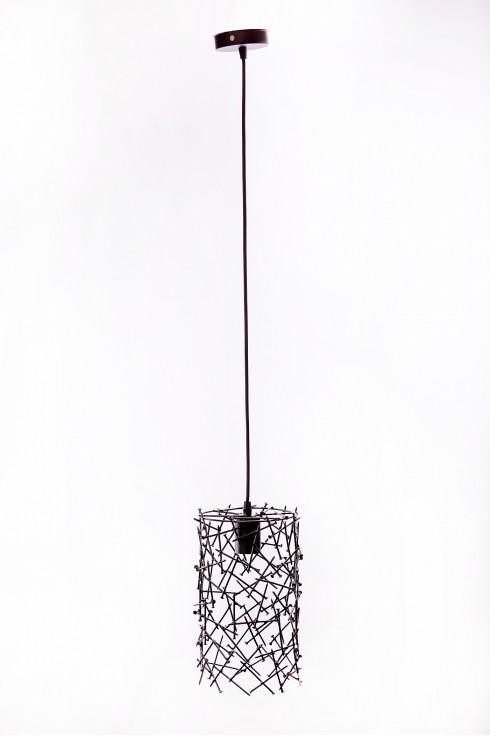 Светильник подвесной BARREL RANDOM 300 черный