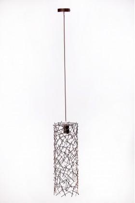 Светильник подвесной BARREL RANDOM 500 темно-серый