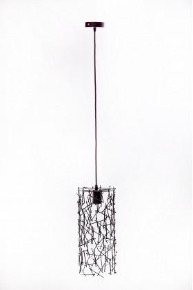 Светильник подвесной BARREL RANDOM 400 черный