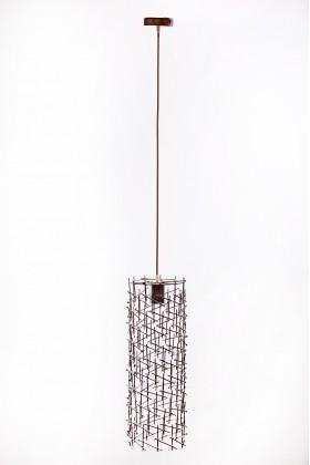 Светильник подвесной BARREL 500 серебряный