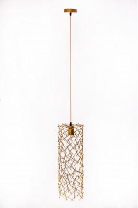 Светильник подвесной BARREL RANDOM 500 золотой