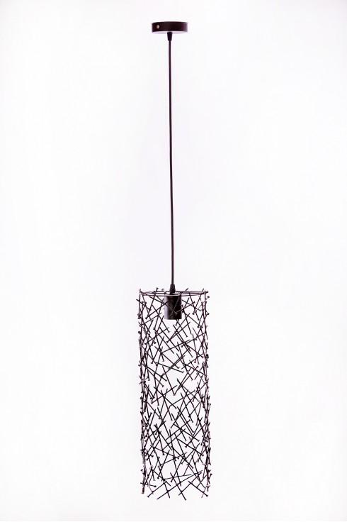 Светильник подвесной BARREL RANDOM 500 черный