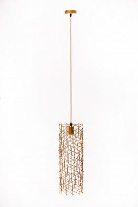 Светильник подвесной BARREL 500 золотой